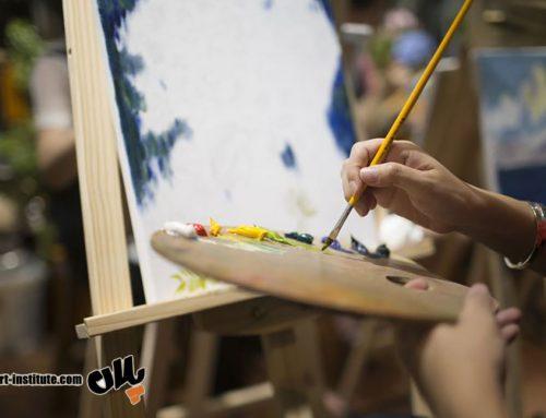 کلاس آنلاین آموزش نقاشی رنگ روغن