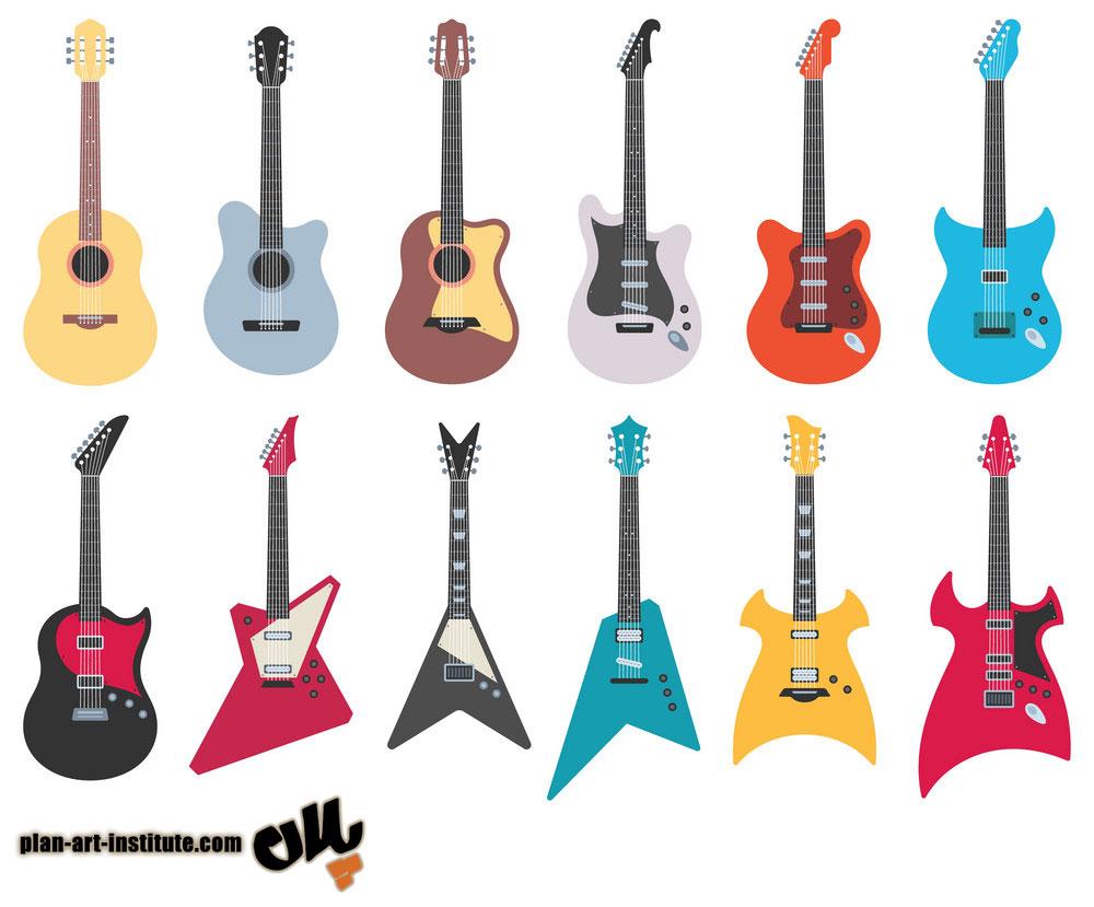 کلاس آموزش گیتار الکتریک در رسالت